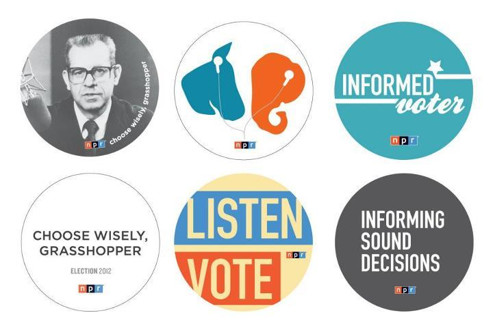 NPR 2012 Elections Button