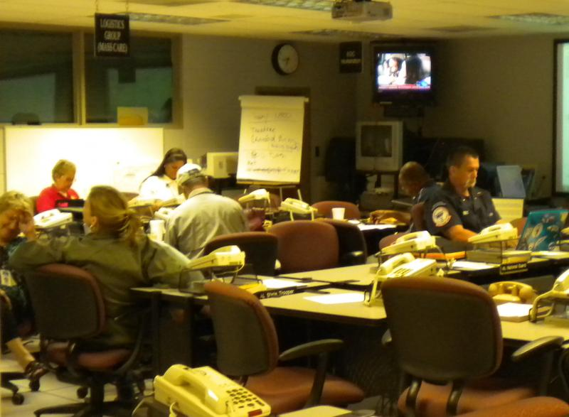 Mobile County's Emergency operations center