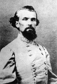People in Selma marched to prevent the rebuilding of a monument to Confederate General Nathan Bedford Forrest.