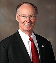 Gov. Bentley is president of the Auburn University trustee selection committee.