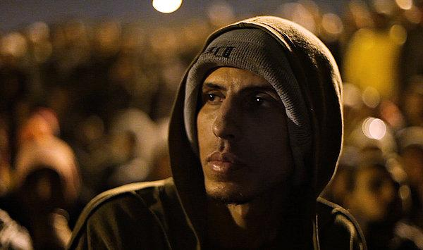 "A scene from the documentary ""Tahrir: Liberation Square."""