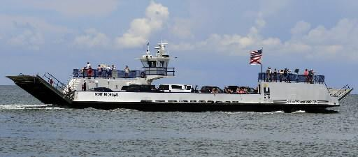 The Mobile Bay Ferry service.