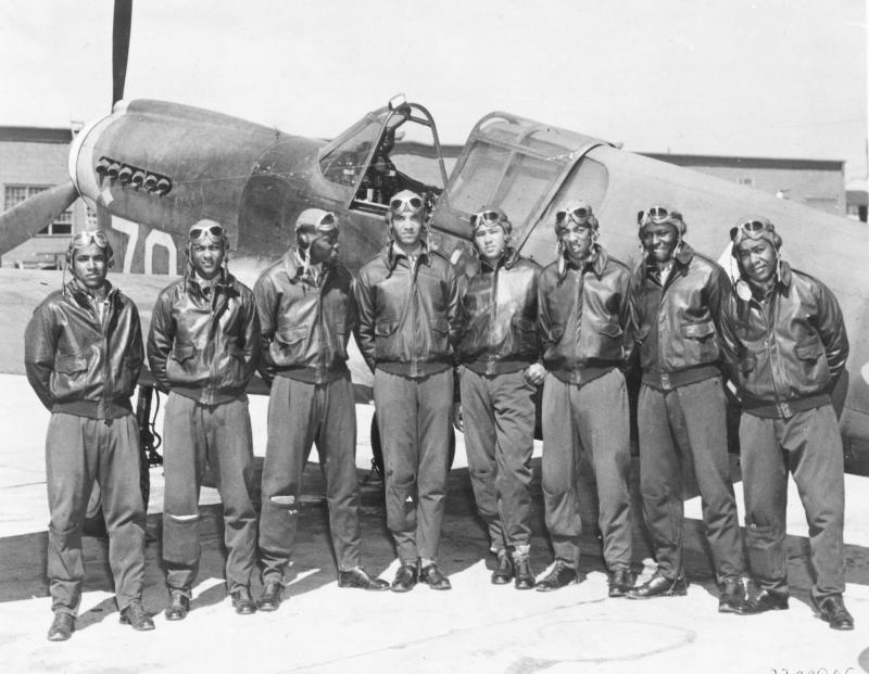 Tuskegee Airmen.