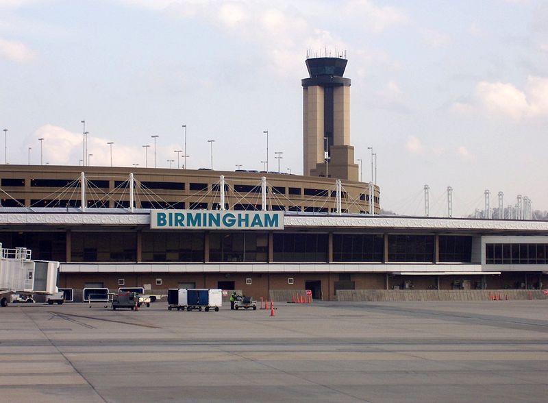 Birmingham-Shuttlesworth International Airport.