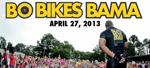 Heisman Trophy Winner Bo Jackson will hold a charity bicycle ride for survivors of the April 27, 2011 storms. He hopes to raise $1million.