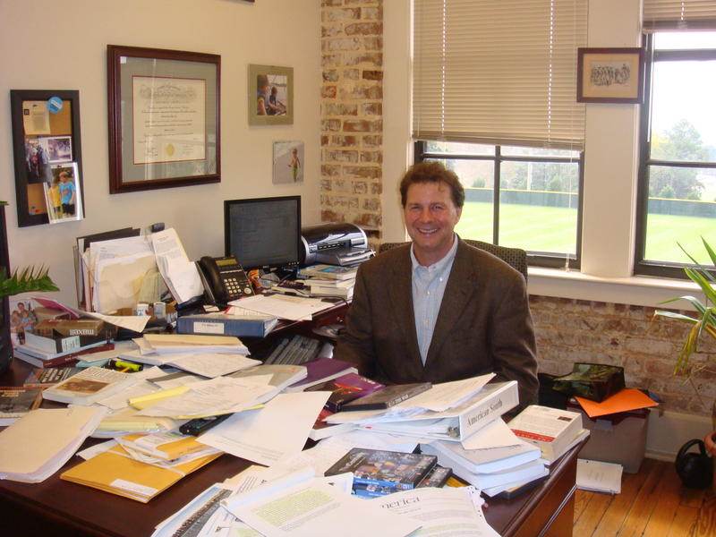 Professor Tom Ward chairs the History Department at Spring Hill College.