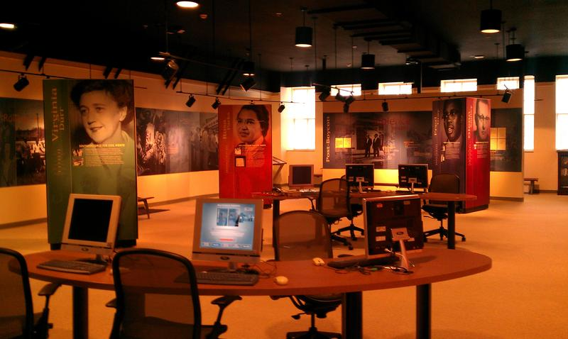 Learning Stations in Rosa Parks Museum