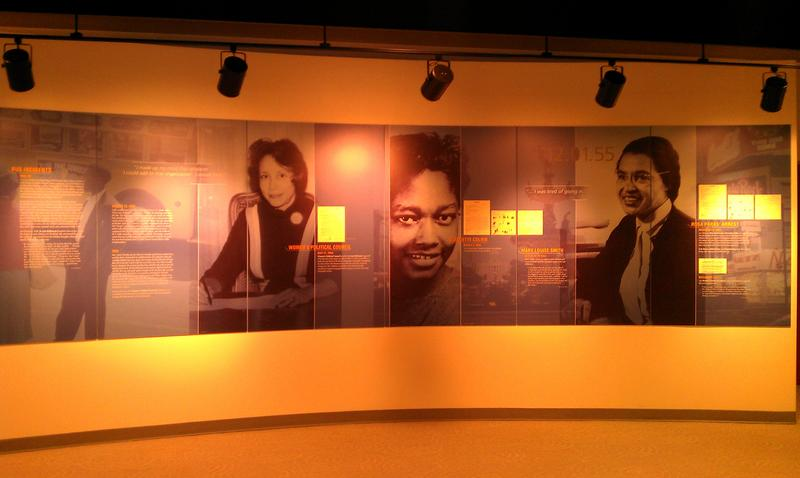 Timeline in Rosa Parks Museum