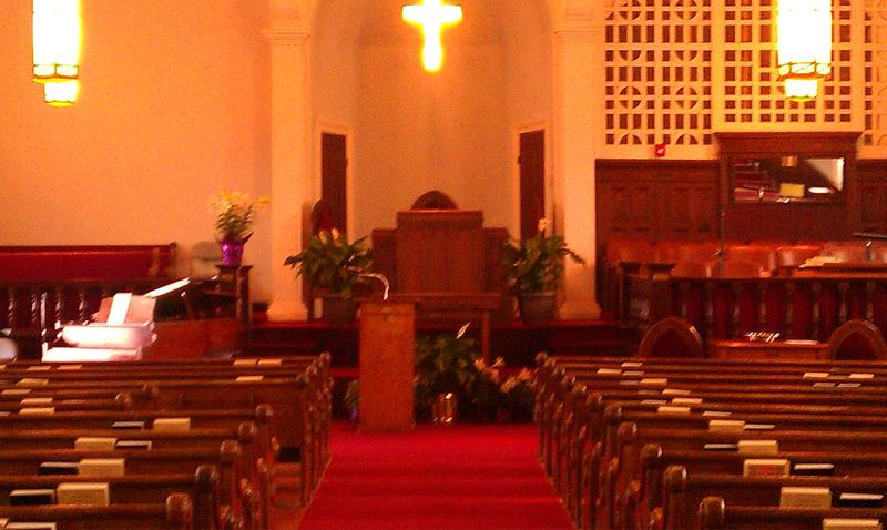 Sanctuary of Dexter Ave Baptist Church