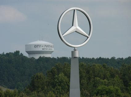 The Mercedes-Benz Plant in Vance, Alabama.