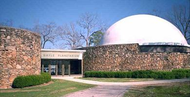 Montgomery's Planetarium is managed by Troy University and has been in Oak Park since 1968.