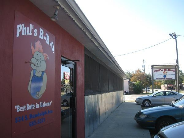 Phil's BBQ in Eufaula has been named as best sauce by the state's tourism department.