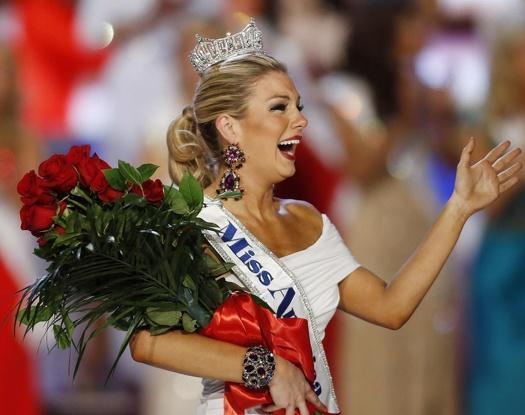 Mallory Hagan grew up in Lee County, but moved to New York City and was representing the state of New York when she was crowned Miss America.