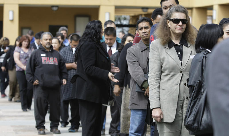 Alabama's unemployment rate fell to 6.9 percent in April.