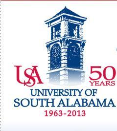 The University of South Alabama celebrates 50 years.