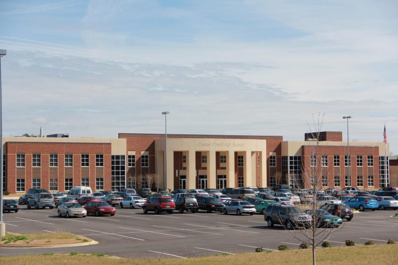 Center Point High School in Jefferson County is one of 78 schools on the failing list.