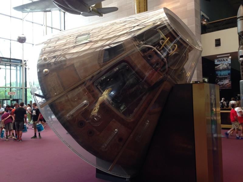 Apollo 11 Moon capsule