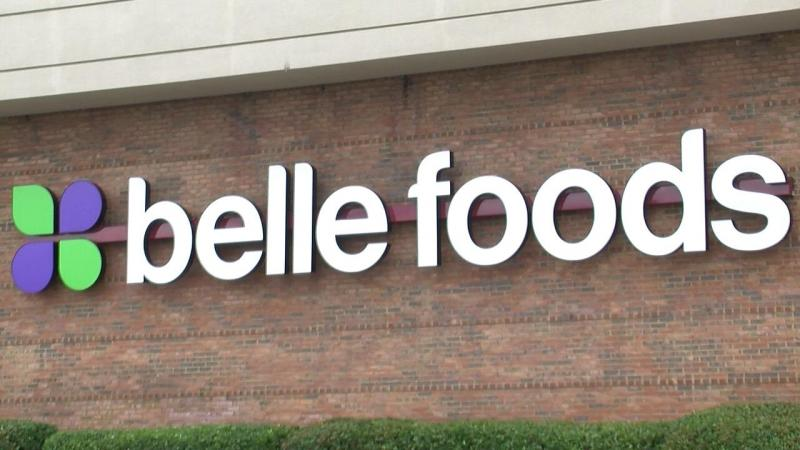 Birmingham-based Belle Foods cites a decline in business and technical issues with its accounting system as factors in decision to file for Chapter 11 bankrupcty.