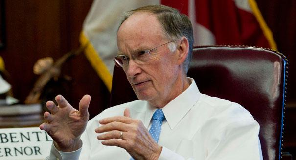 Alabama Governor Robert Bentley is taking his road to economic recovery tour to Geneva in southeast Alabama.