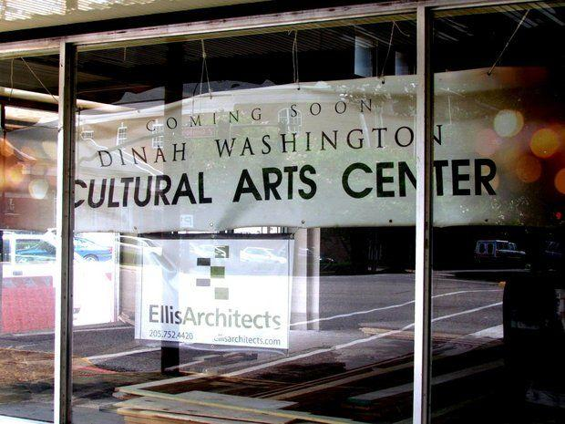 The Dinah Washington Cultural Arts Center in downtown Tuscaloosa opens Thursday, August 29.