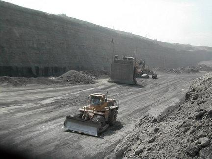 Drummond Co. has invested $2.5 billion in its Colombian coal mine operations, shown here in a 2006 photo.