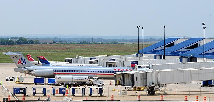 A new report from the U.S. DOT says travelers shell out more flying out of Huntsville International Airport than any other airport in the country.