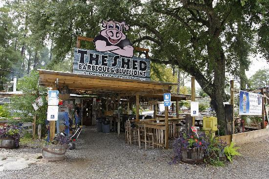 The Shed in Mobile is closed after 4 years of business in the area. Closest location is now in Ocean Springs, MS.