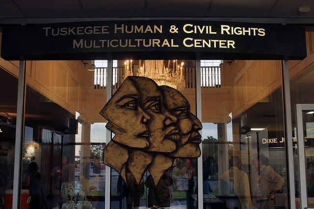The Tuskege Human & Civil Rights Multicultural Center hosted the event.