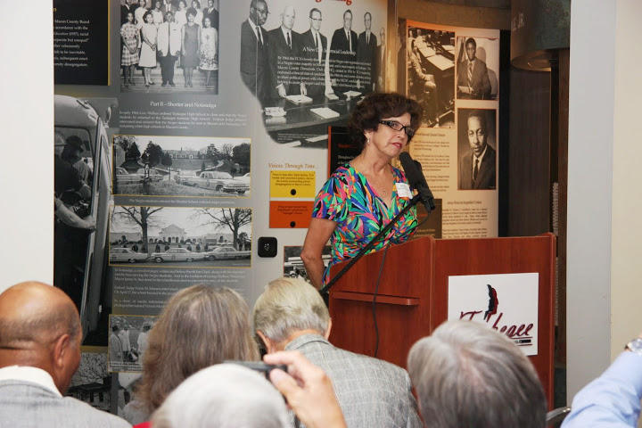 Rebecca Wadsworth Sickles recalls her experience during the desegregation of Tuskegee High School in 1963.