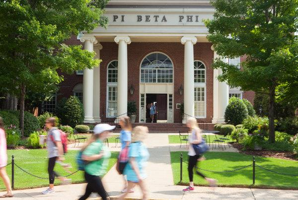 Pi Beta Phi is one of three sororities officials are investgating after alleged discrimination against two African-American girls during the recruitment process.