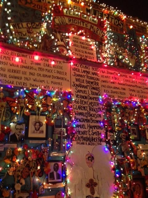 """The main altar for this year's Dia de los Muertos Festival was """"Year of the Civil Rights Martyr."""""""