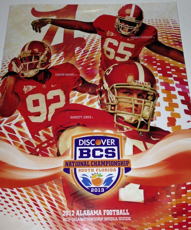 BCS 2013 program