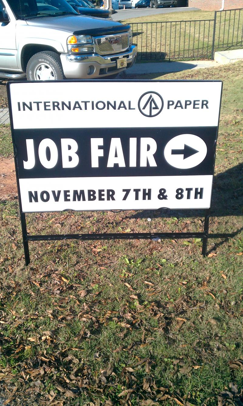 International Paper Job Fair