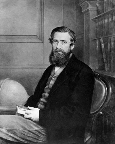 Alfred Russel Wallace, circa 1860, was a Welsh naturalist and explorer who, independently of Darwin, propounded the theory of evolution by natural selection. (NPR)