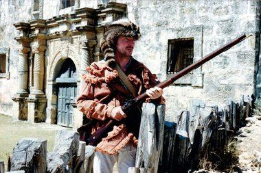 Al Bouler's portrayal of Davy Crockett