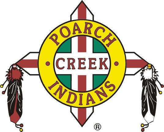 Poarch Creek Indians Logo Poarch Band of Creek Indians