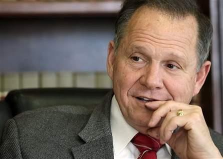 Ala. Chief Justice Roy Moore says the Ala. Secretary of State should have determined if President Obama was qualified to be on a state ballot. (AP Photo/Dave Martin)