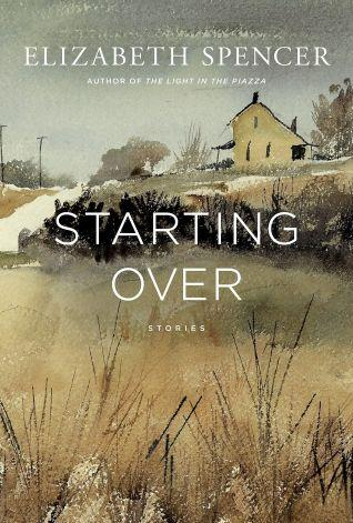 Book cover - painting of an old farmstead with a house in the distance