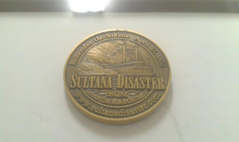 Sultana survivor descendant medallion