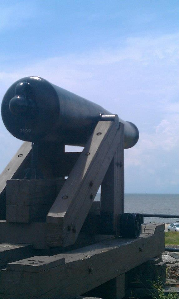 Cannon, Fort Gaines
