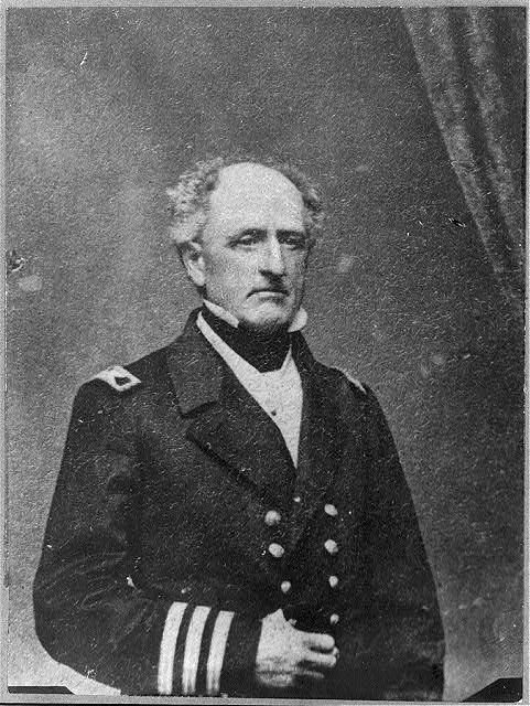 Confederate Admiral Franklin Buchanan
