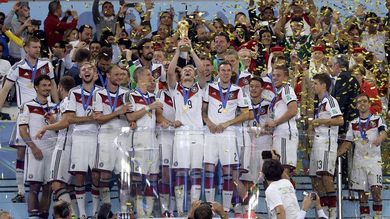 Germany defeated Argentina 1-0 in the World Cup final