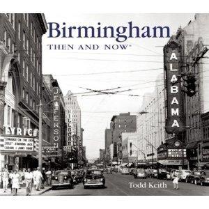 1950s Black and white photo of Birmingham, Alabama