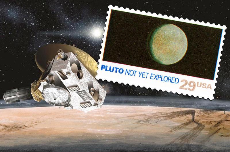 NASA stamp
