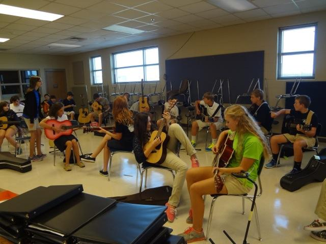 Fairhope guitar class