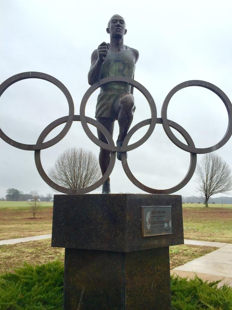 Alabama Jesse Owens Starting Block Alabama Public Radio