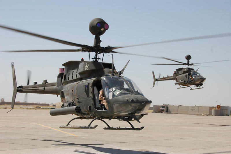 OH-58D helicopter