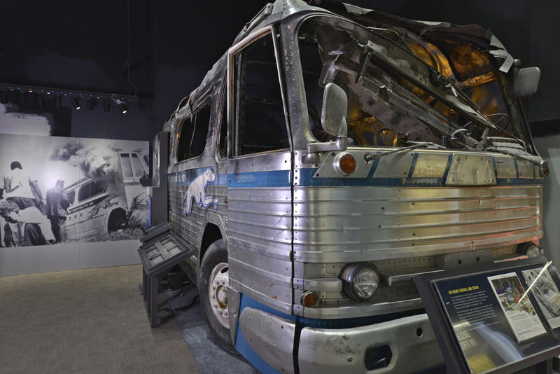Freedom Rides bus