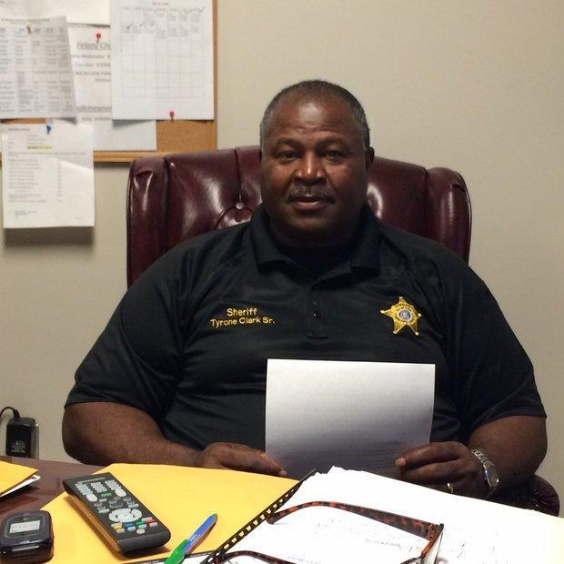 Sumter County Sheriff Tyrone Clark