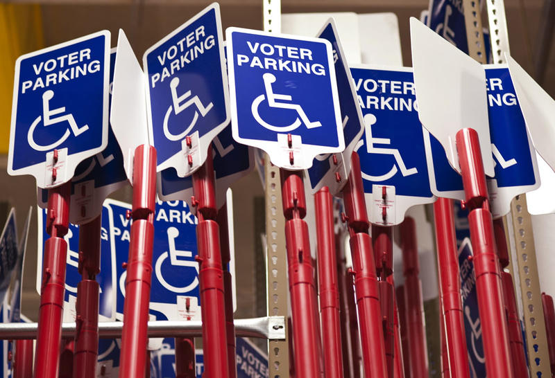 disability voter parking
